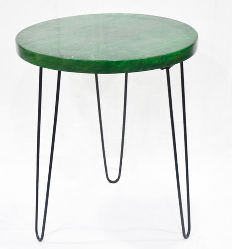 Three Legs Small Table With Enamel Top