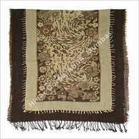 Fancy Wool Embroidery Shawls