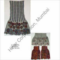 Embroidered Wool Lycra Shawls