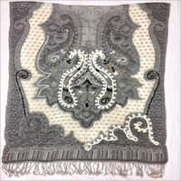 Ladies Winter Boil Wool Embroidery Shawls