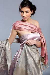 Heavy Silk Shawl