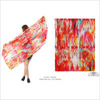 Digital Printed Silk Shawls