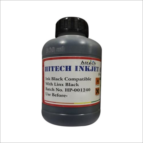 Hitech Inkjet Ink Linx Black Compatible