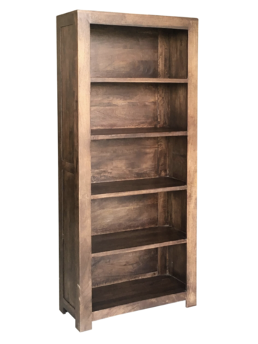 Mango wood Bookcase.