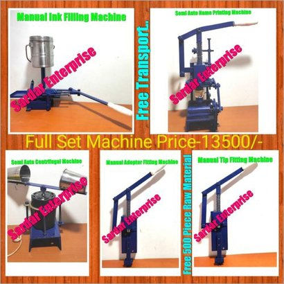 Industrial Ball Pen Assembly Machine Power Source: Electricity