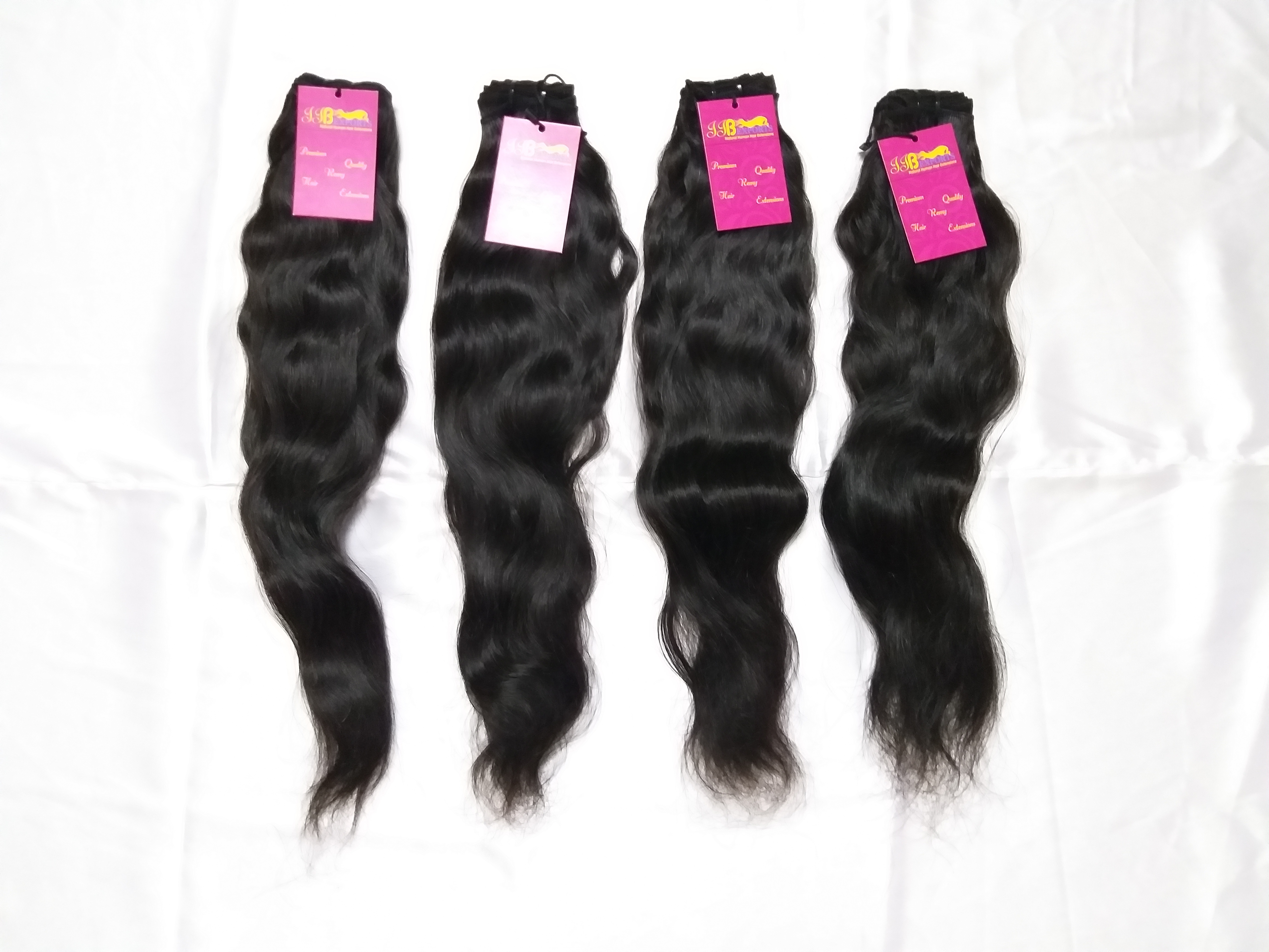Best Quality 100% Unprocessed Mink Virgin Wavy Indian Wave Cuticle Aligned Hair Extensions