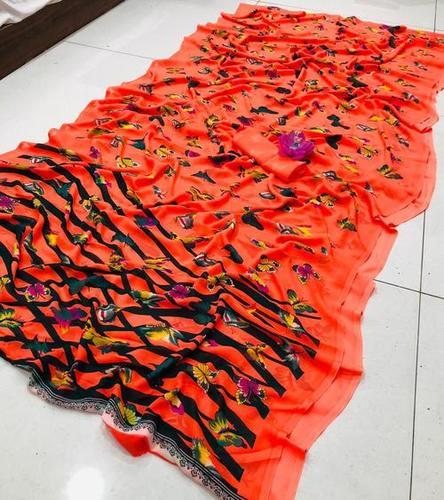 Butterflies Saree
