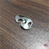 Mild Steel D Shape Thumb Buckles Nickel