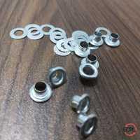 Aluminum Eyelets & Washers Polished