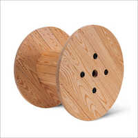Hardwood Wooden Cable Drum
