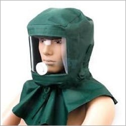 Sand Blasting Hood with Airline Connection