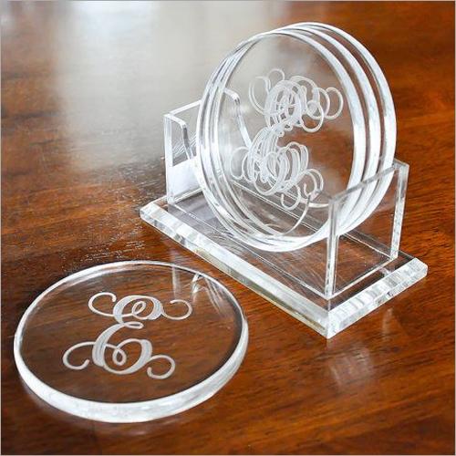 Laser Cutting Acrylic Coaster