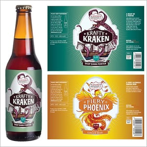 Bottle Labels Printing Service