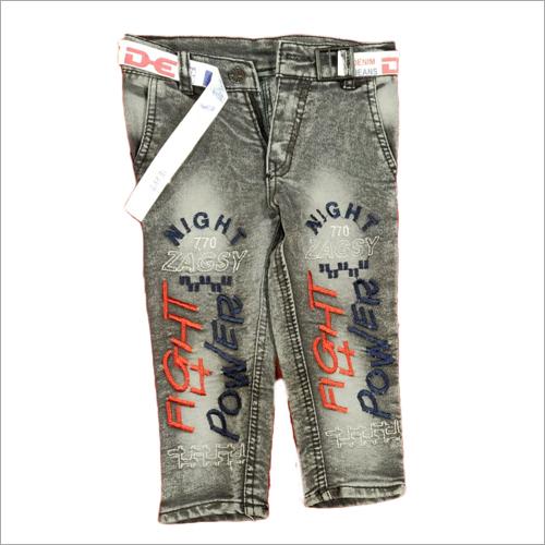 Boys Printed Denim Shorts