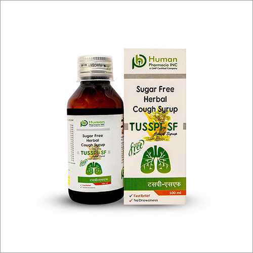 Sugar Free Herbal Cough Syrup