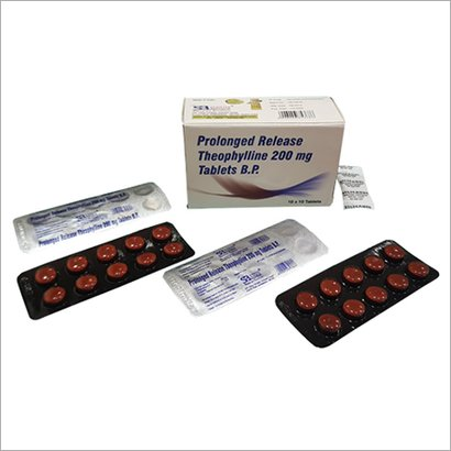 Prolonged Release Theophylline 200 Mg Tablets B.P