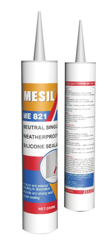 Mesil One Component Weatherproof Silicone Sealant