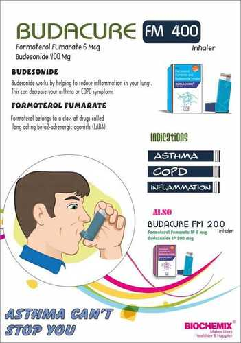 Formoterol Fumarate & Budesonide Respules