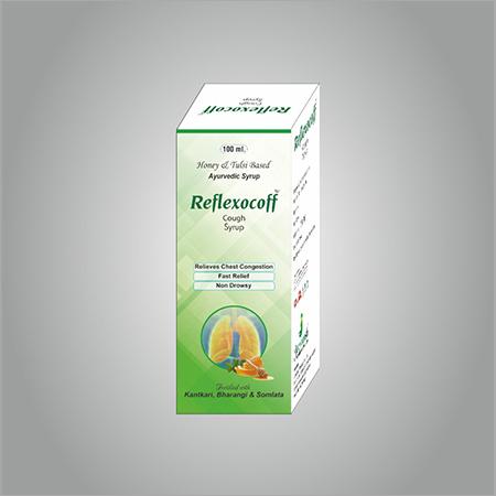 Refllexocoff. Cough syrup