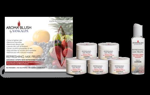 Refreshing Mix Fruit Facial Kit