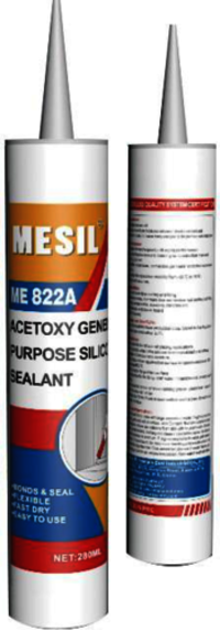 MESIL One Component Acetoxy Silicone Sealant