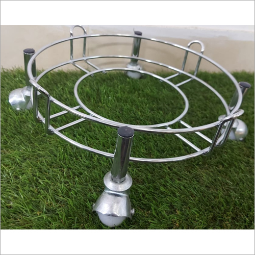 Cylinder Trolley With Ball Caster Wheel