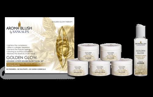 Golden Glow Facial Kit