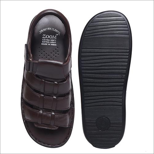 Mens Formal Leather Sandals