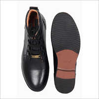 Mens Black High Ankle Boots