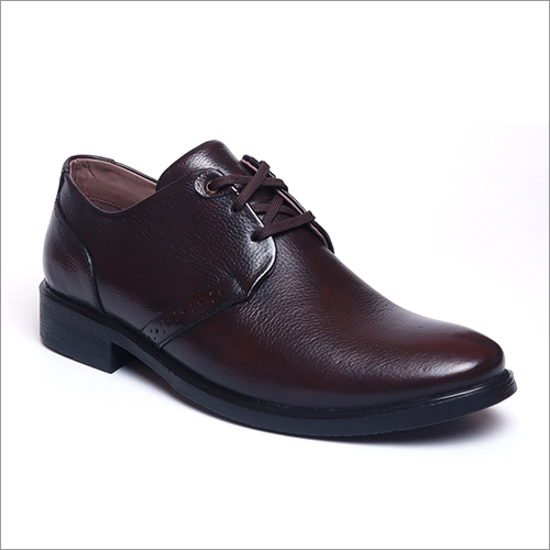 Mens Savvy Brown Lace Up Shoes