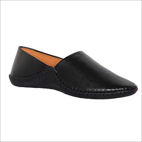 Mens Shadow Black Casual Slip Ons Shoes