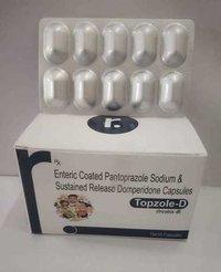 ENTERIC COATED PANTOPRAZOLE SODIUM & SUSTAINED RELEASE DOMPERIDONE CAPSULES