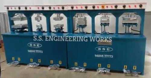 6DYE ARECA PLATE MAKING MACHINE WITH 2HP