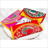 Ladies Embroidered Clutch Purse
