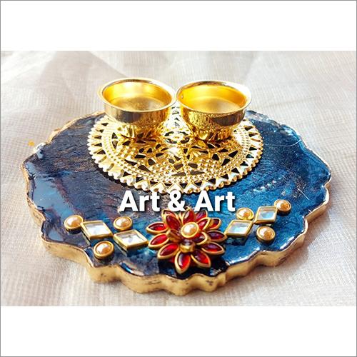 Decorative Kumkum Platter
