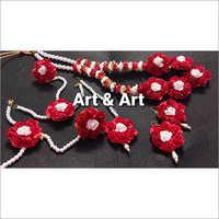 Designer Floral Jewellery Set