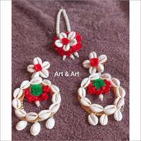 Mehendi Ceremony Floral Jewellery