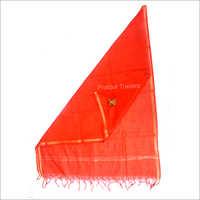 Red Banarasi Silk Fancy Dupatta