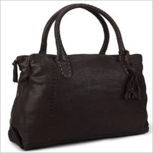 Black Handcrafted Leather Bags