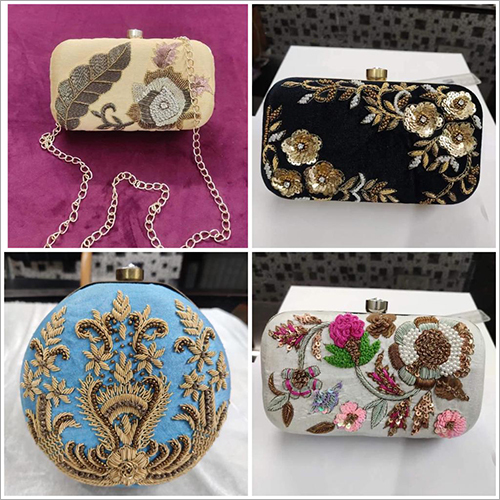 Hand Embroidery Purses