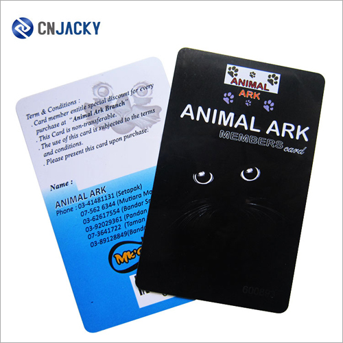 Customized Printing 215 PVC ID Card Plastic Glossy Finished ID Cards
