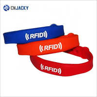 Customized Logo Printing Colorful Eco-friendly Silicone Closed Type Flexible RFID Wristband Watch
