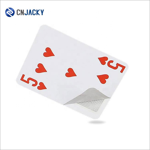 Waterproof Custom Printing RFID Plastic Poker Card with Chips for Card Game