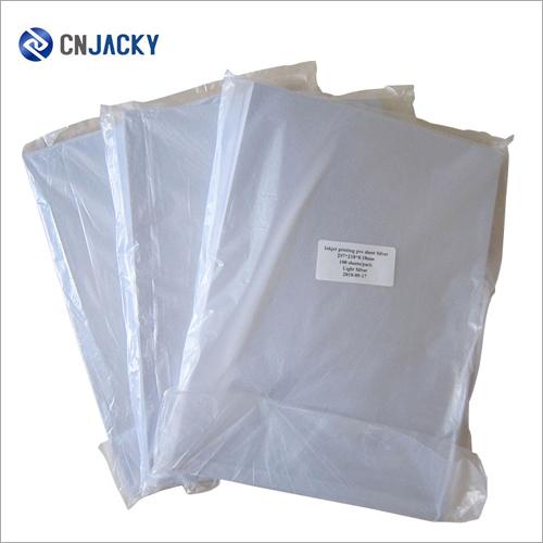Custom Dimensional Inkjet Printable PVC Plastic Sheet