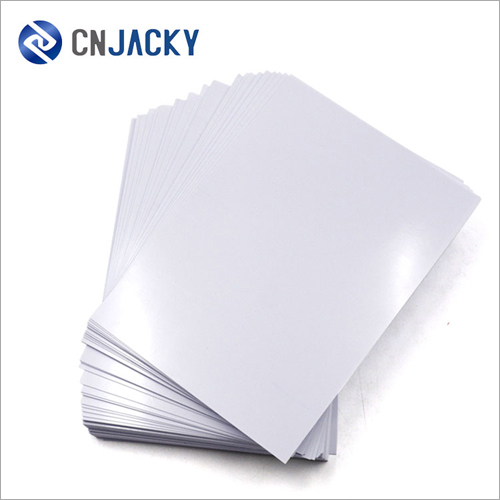 A4 PVC Core Sheets for Cards