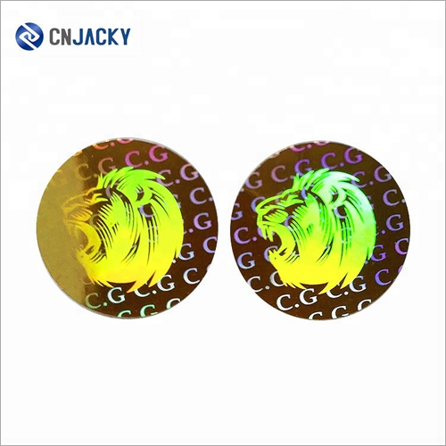 2D 3D Customized Small Security Holographic Label for Packaging