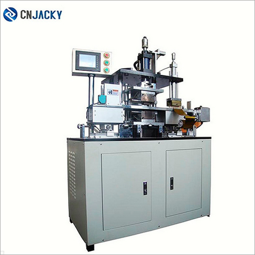 PVC Plastic Card Automatic Embossing and Gilding Machine
