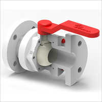 PP WITH PVDF Ball Valve