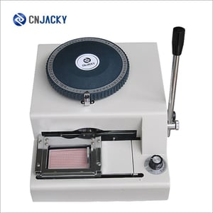 Stainless Steel Dog Tag Nameplates Embosser Manual Embossing Machine