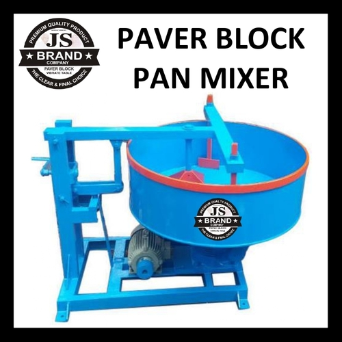 Paver Block Pan Mixer